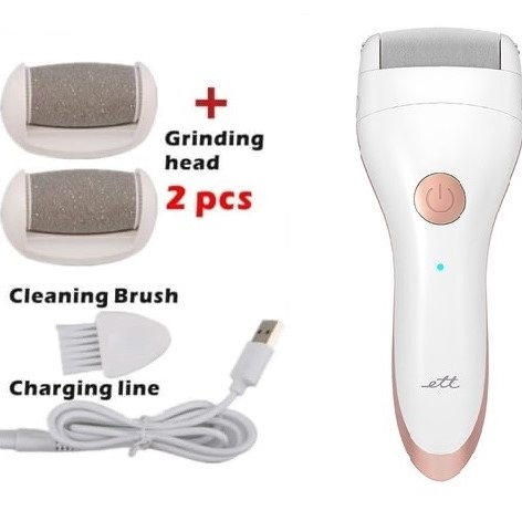 ETT Portable Electric Foot Grinder File Callus Removers Rechargeable P