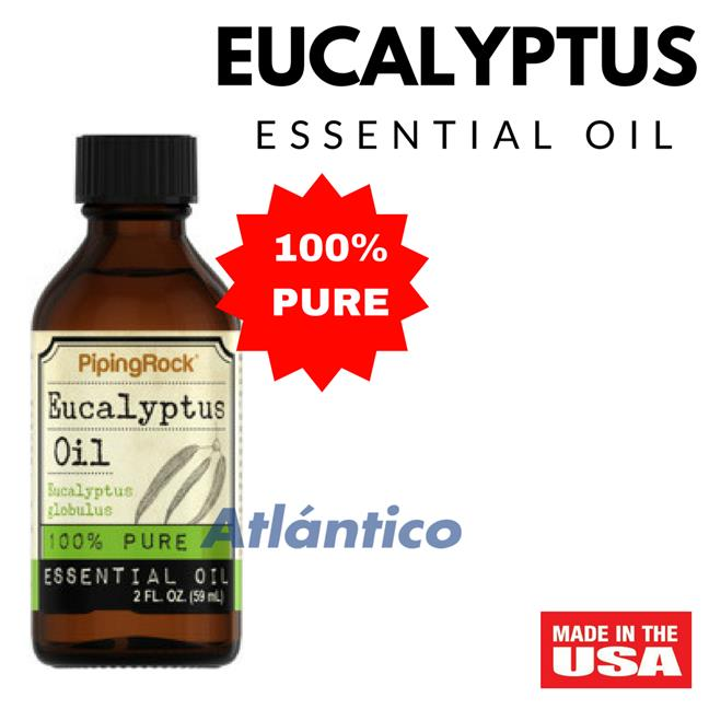 Eucalyptus 100% Pure Essential Oil 59ml Bottle (Massage Aromatherapy)
