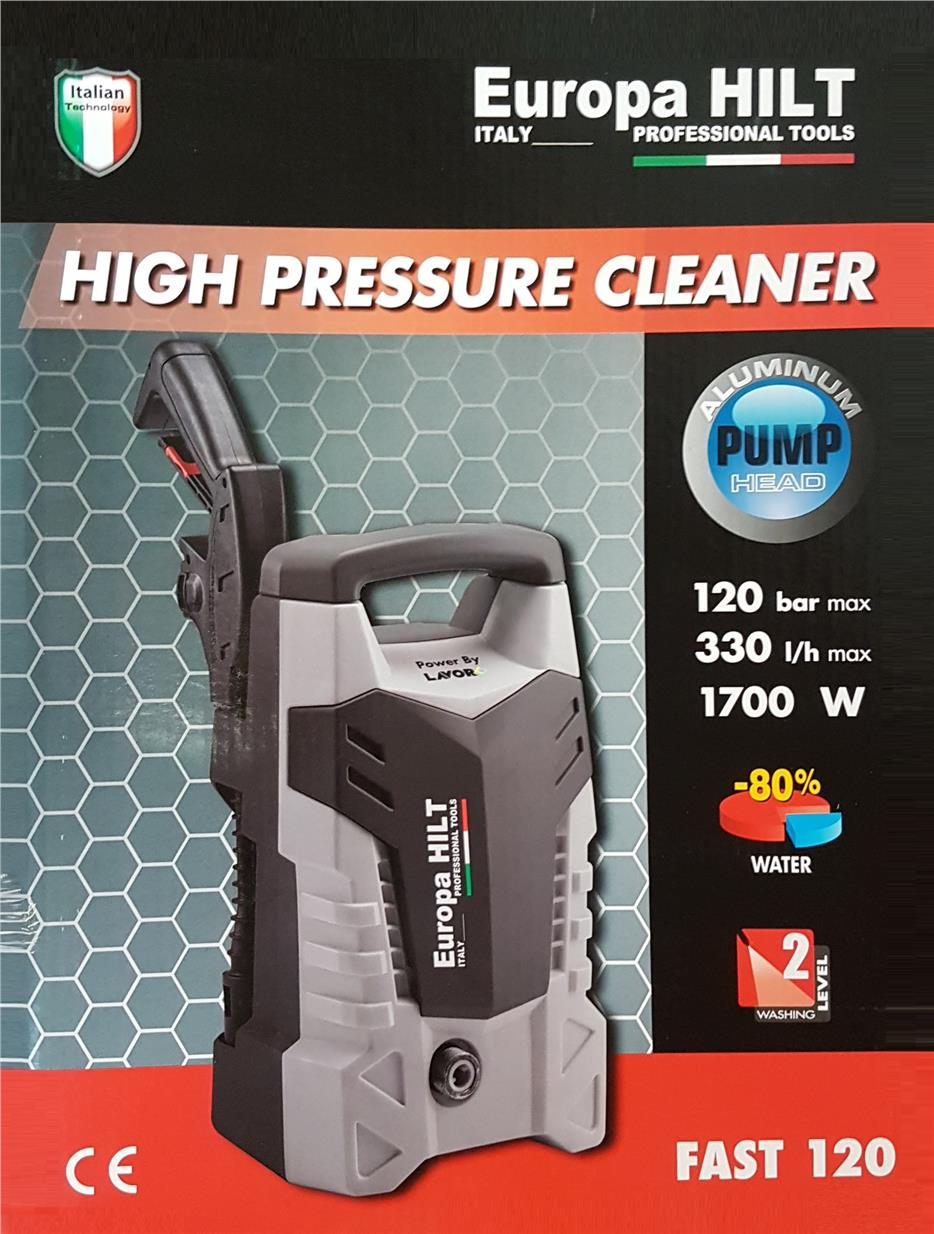 Europa Hilt Pressure Washer 17000W/120Bar B0218
