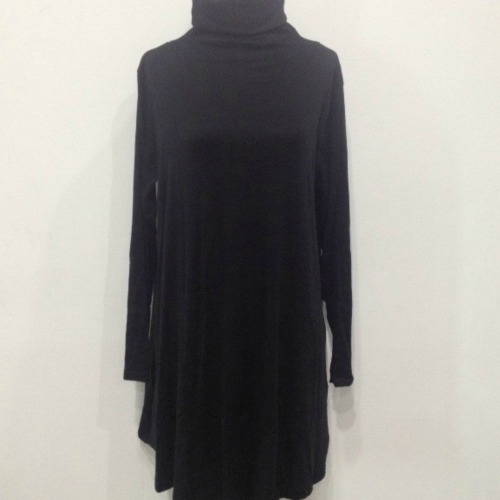 EUROPE FASHION DRESS BLACK (SIZE XXXL)