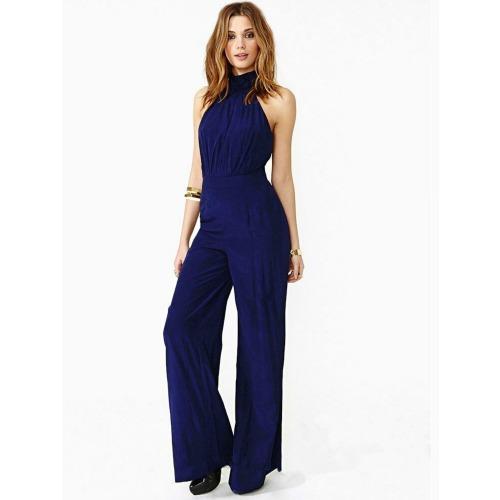 4cd1175cf0c9 Dark Blue Jumpsuit