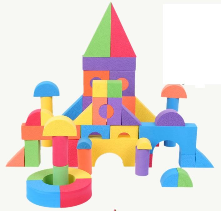 Eva fun foam toy soft bayby kids ch end 11 20 2018 2 15 pm for Foam building blocks for houses