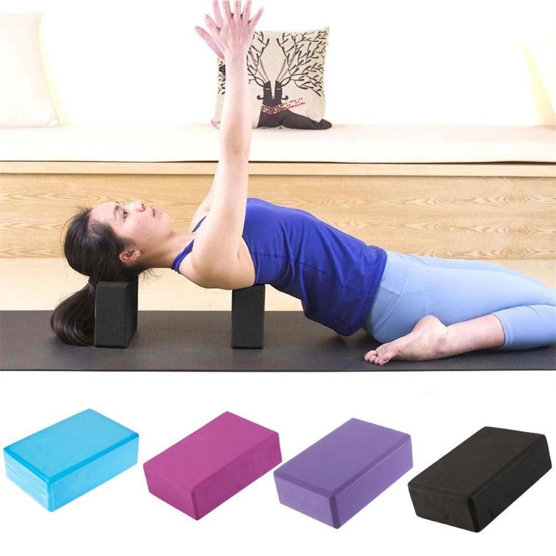 EVA Yoga Block Brick Foaming Foam Home Exercise Fitness Health