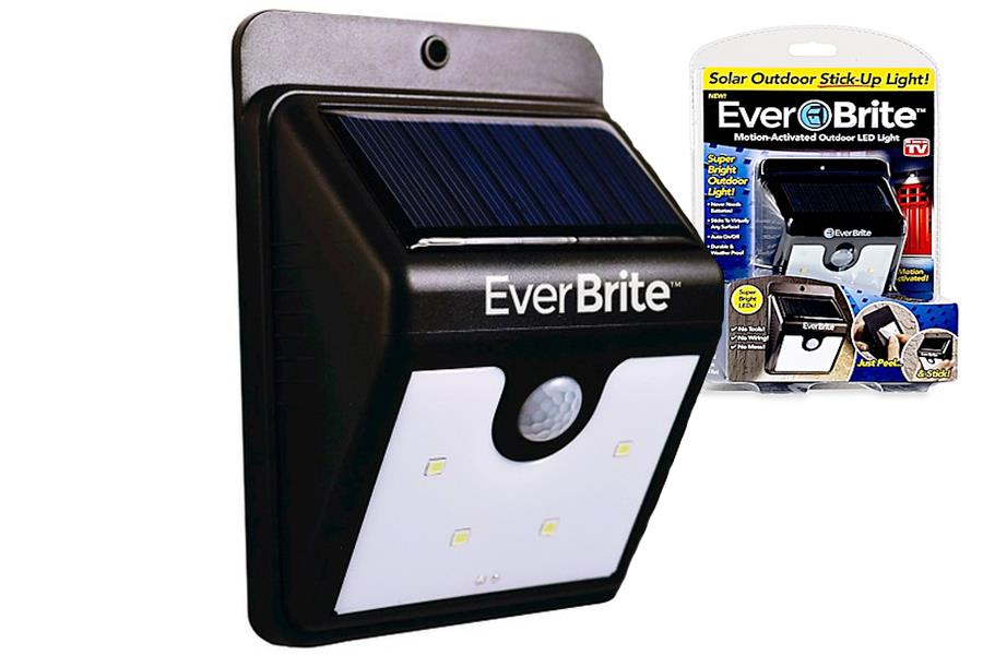 Everbrite Solar Motion Lamp Activated Solar Power LED light