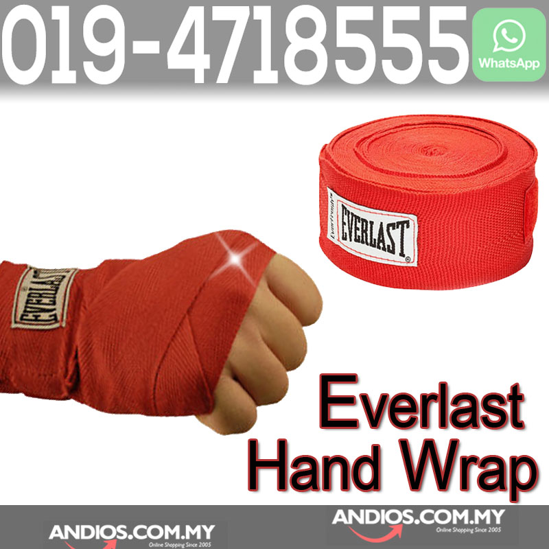 Everlast Hand Wrist Wrap Boxing Muay Thai Glove Rope String 5-meter Re