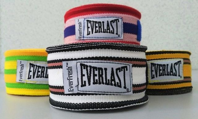 Everlast Hand Wrist Wrap Boxing Muay Thai Rope String Belt Cord Line