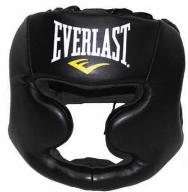EVERLAST MMA Boxing Muay Thai Training Headgear Head Mask Helmet Face