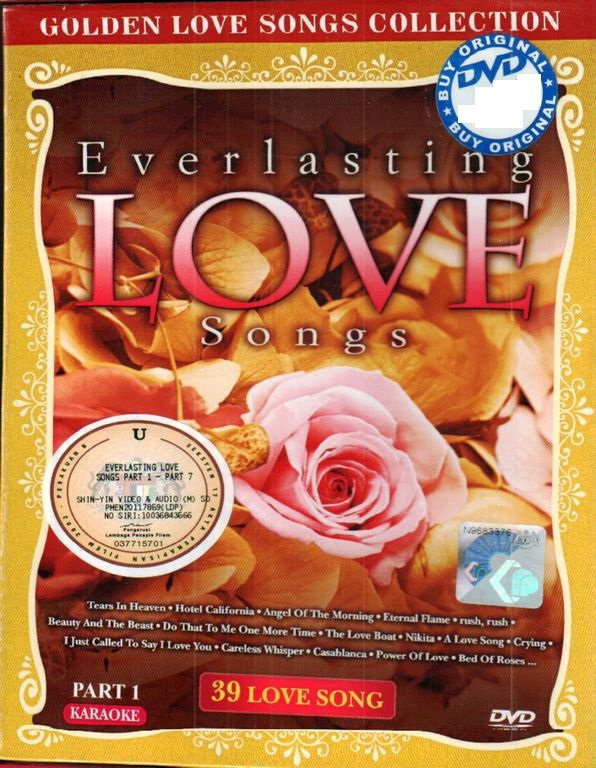Everlasting Love Songs Part 1 Karaoke DVD
