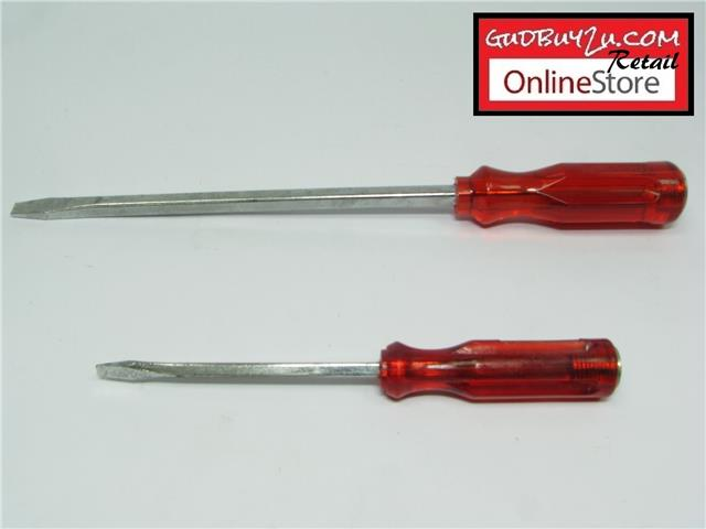 EVERLASTING SCREW DRIVER (-) - 8""