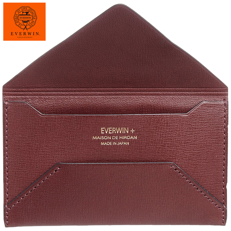 Everwin maison de hiroan boarded end 6142020 1109 am everwin maison de hiroan boarded envelope business card holder wine reheart