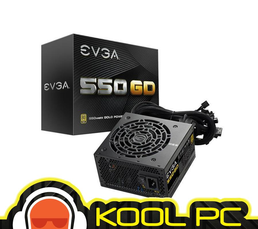 ~ EVGA SuperNOVA 550 GD Gold PSU Non Modular