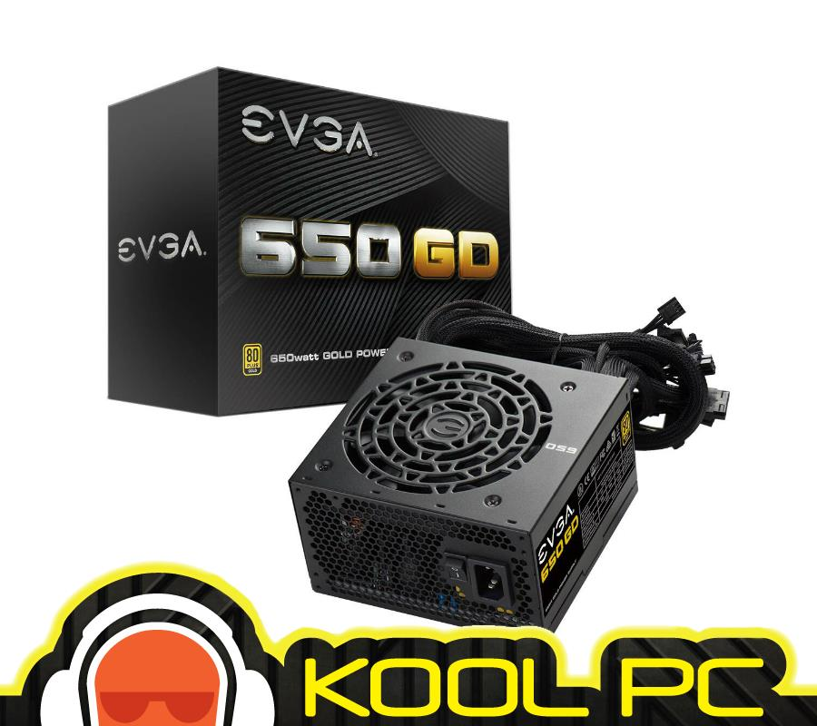 ~ EVGA SuperNOVA 650 GD Gold PSU Non Modular