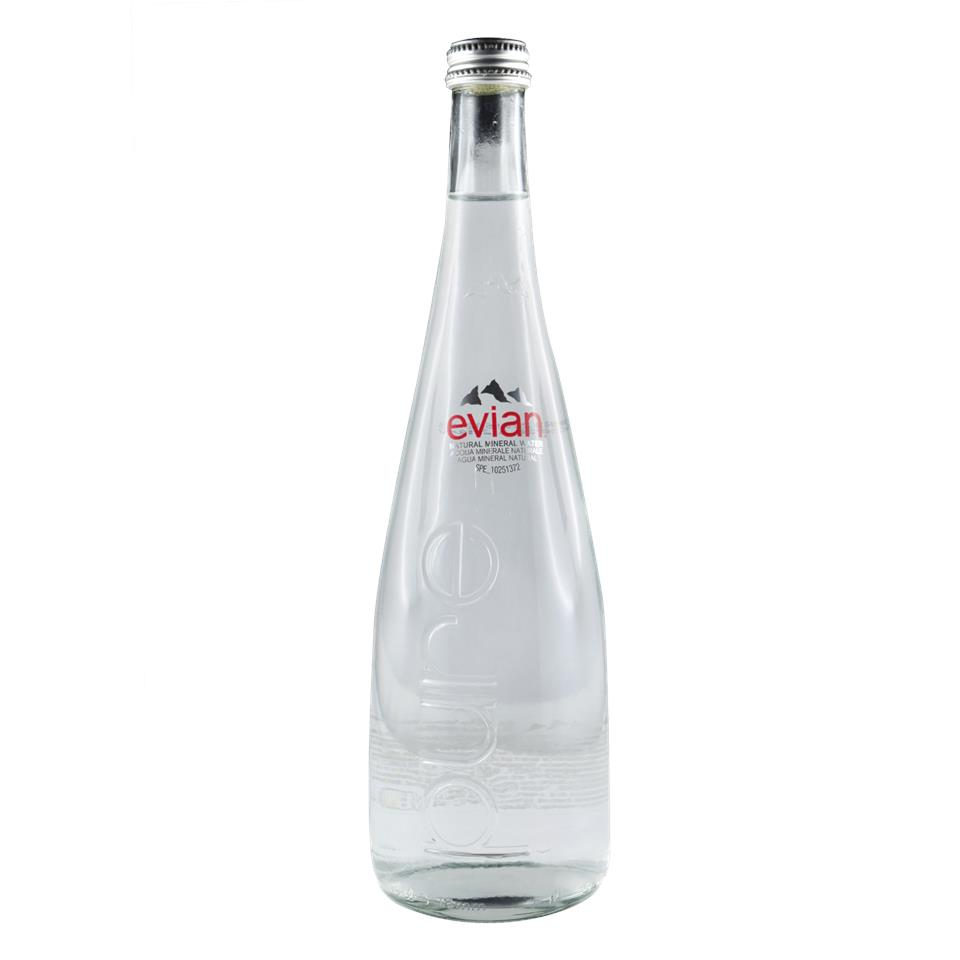 evian mineral water glass bottle end 12 7 2020 12 00 am