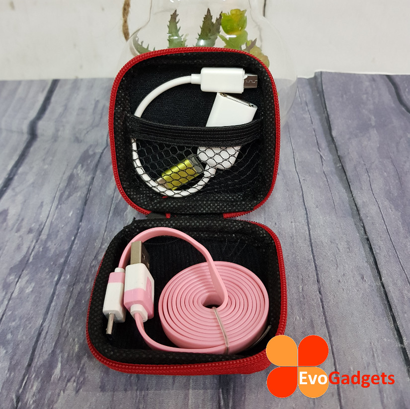 EvoGadgets Mini Multipurpose Earphone Case