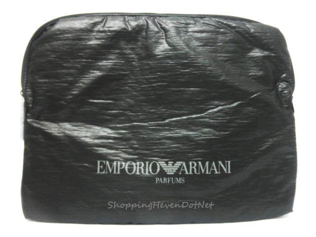 *Exclusive* AUTHENTIC Armani All Black Laptop Sleeve