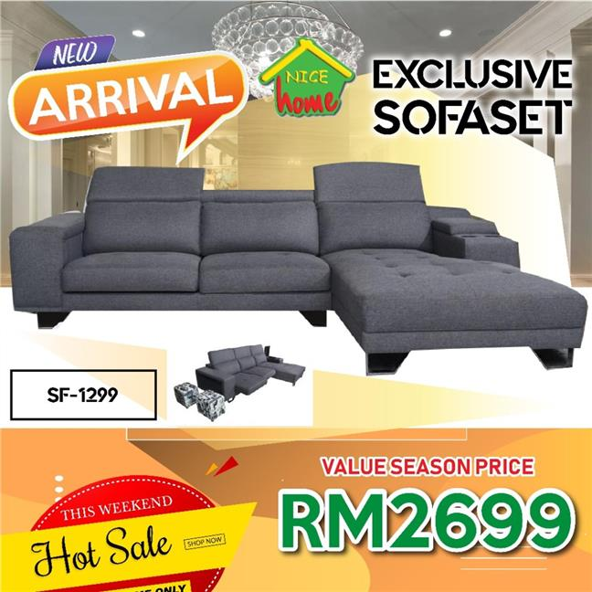 EXCLUSIVE SOFA SET RM2699 - MODEL SF1299