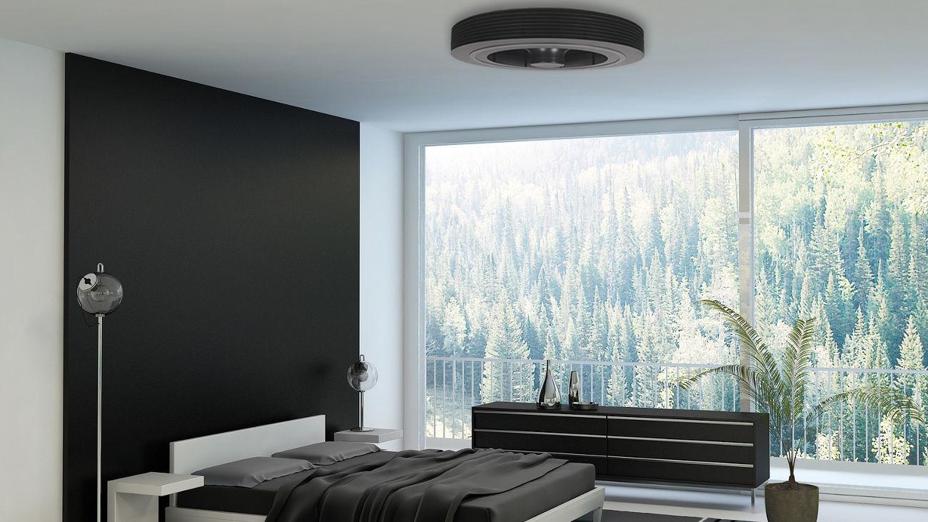 Exhale Bladeless Ceiling Fan White