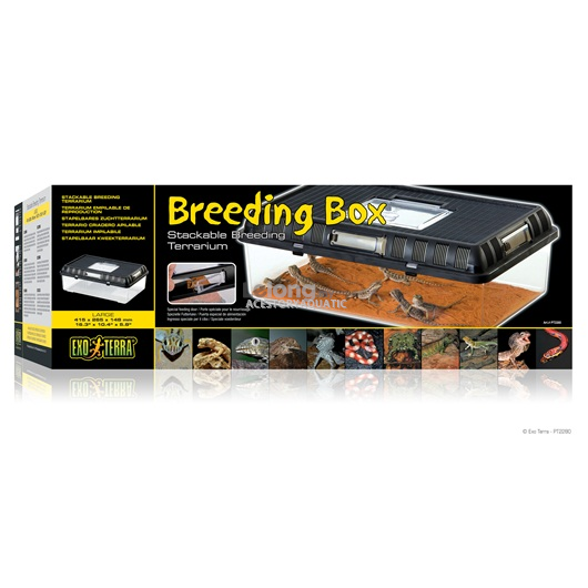 Exo Terra Breeding Box - Large - 415 x 265 x 148 mm