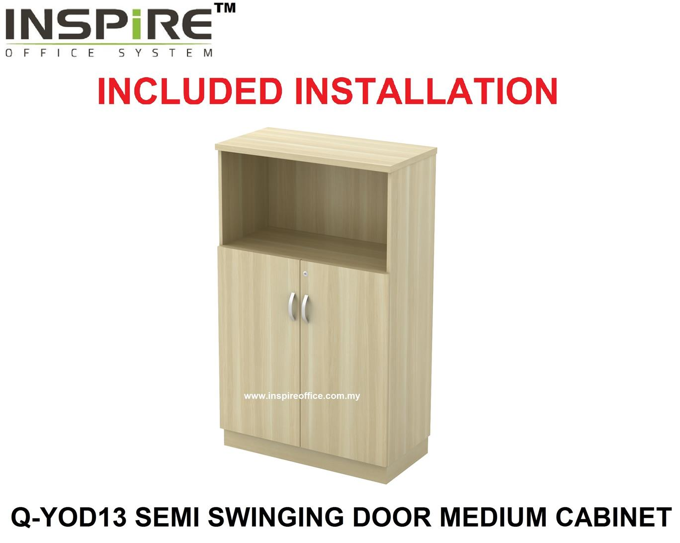 EXORA SERIES Q-YOD13 SEMI SWINGING DOOR MEDIUM CABINET