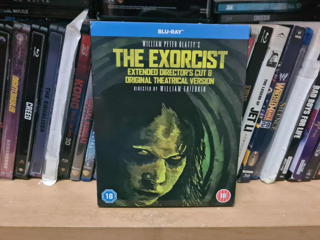 EXORCIST EXTENDED DIRECTOR CUT NEW SEALED W SLIP COVER ORIGINAL