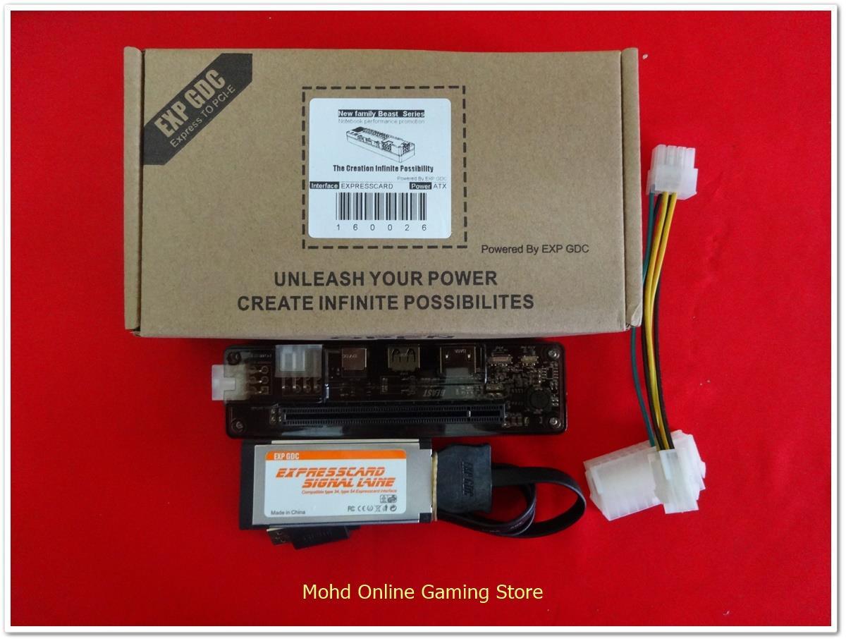 EXP GDC Laptop External Graphics Cards(Expresscard)