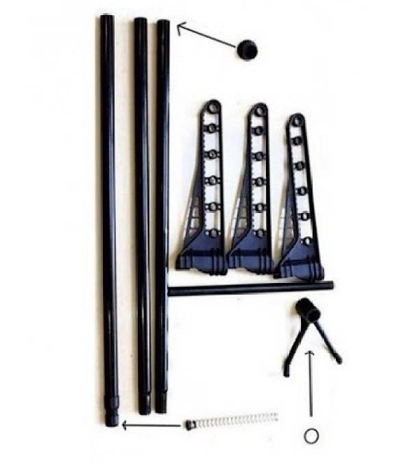 Expandable Clothes Laundry Indoor Room Hanging Organizer Rack Pole