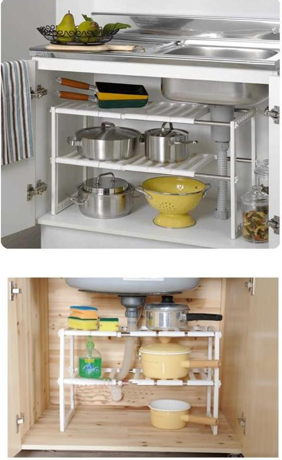 expandable under sink storage shelf listitdallas rh listitdallas net under sink shelves ikea under the sink pull out shelves