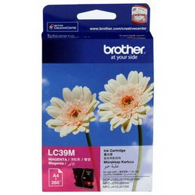 Expired Brother LC39M, LC39 (Magenta) J125 J140W J220 J315W J410 J415W