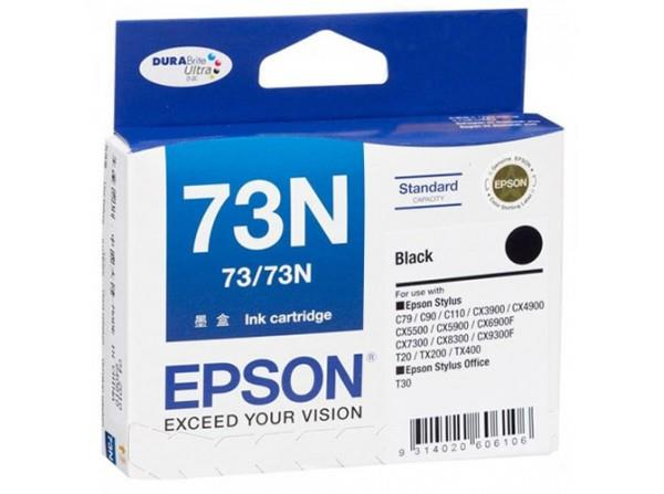 Expired Epson 73N (Black) Genuine C110 CX9300F T30 TX300F TX400 TX550W