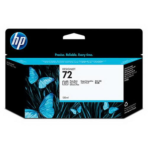 Expired HP 72 - C9370A (Photo Black) DesignJet T1100 T1200 T1300 T2300