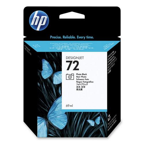 Expired HP 72 - C9397A (Photo Black) DesignJet T1100 T1200 T1300 T2300