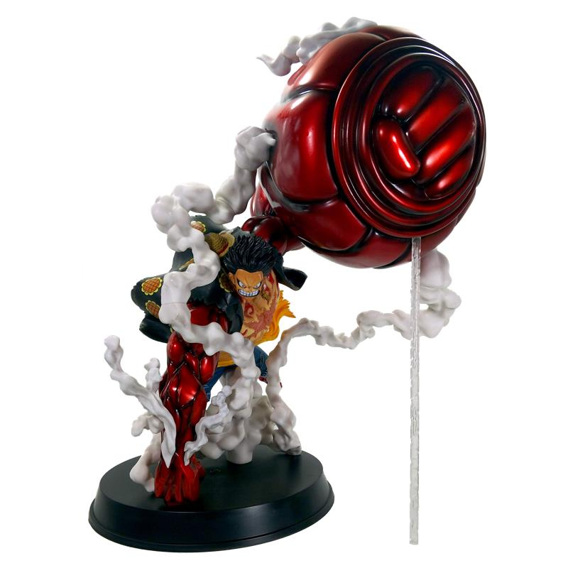 Exquisite Quality One Piece Gk Monkey D Luffy Gear 4 Oversize 50cm