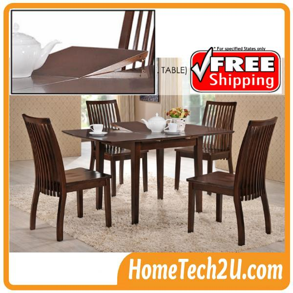 Extendable Dining Table Set 1 4 End 11 15 2018 12 15 Am