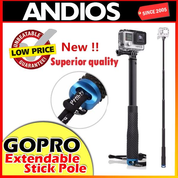 Extendable-Selfie-Stick-Pole-Gopro-Hero-5-4-3-Monopod-Handheld Stick