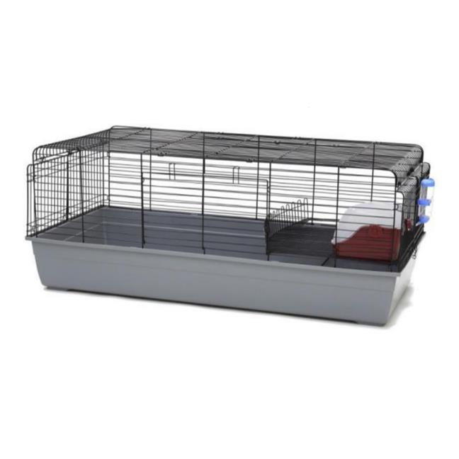 Extra Large Rabbit Cage with Toilet and Feeder