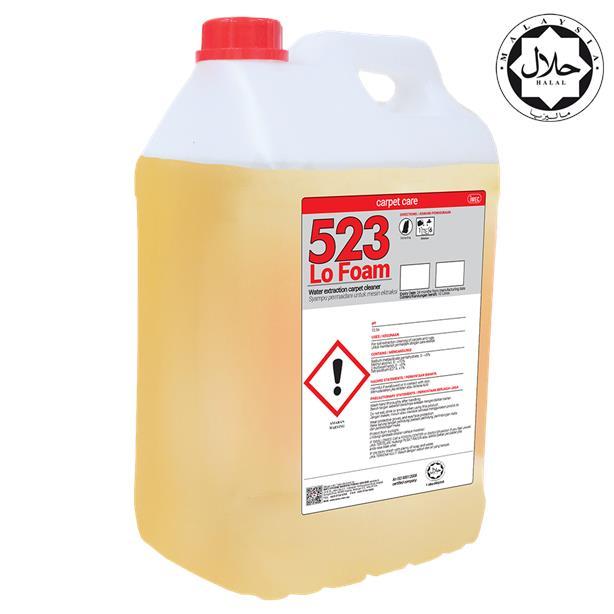 Extraction Carpet/Sofa Cleaner; IMEC 523 Lo Foam; Halal; 2 X 10L