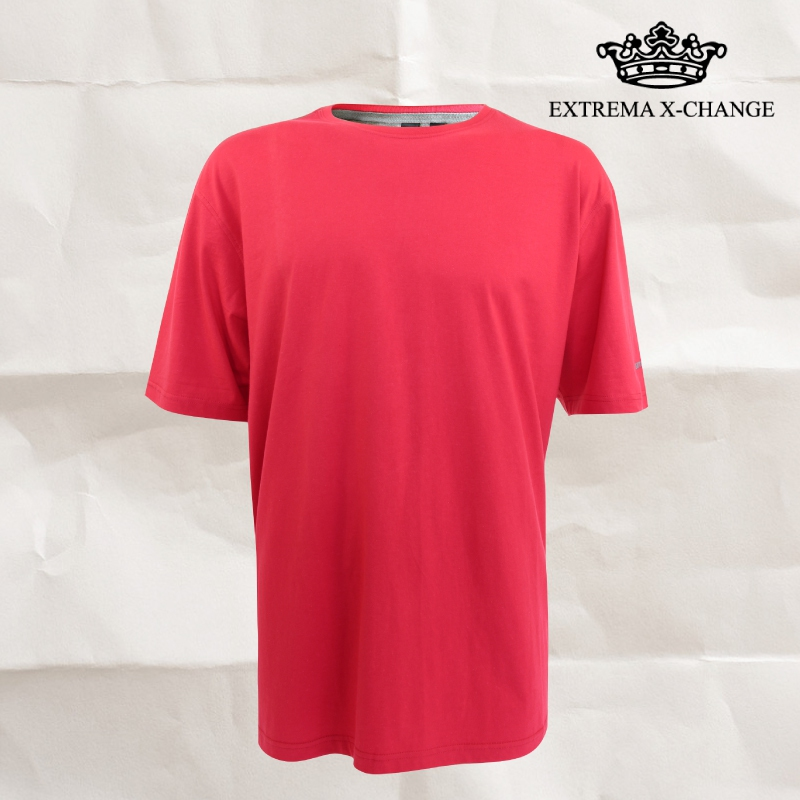 EXTREMA BIG  & TALL Round Neck Shirt EX1033 (Red)