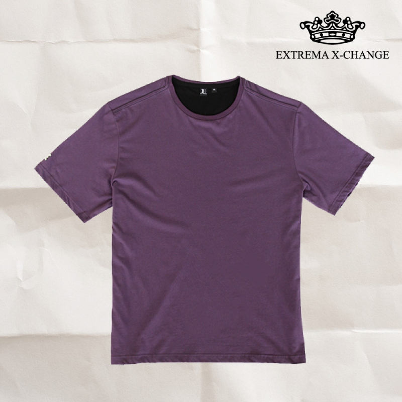 EXTREMA BIG  & TALL Round Neck T-Shirt EX1035 (Purple)