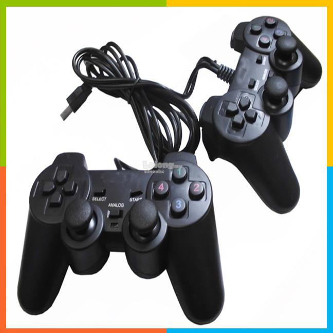 Extreme PC Gamepad USB joystick with vibration controller Double