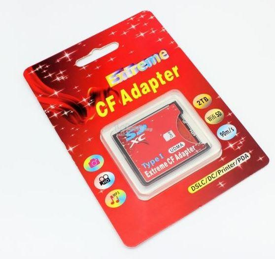 Extreme WIFI SD Memory Card to UDMA CF Card Adapter (S235)