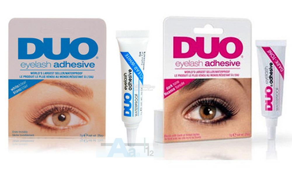 9f4be3afa64 Eyelash DUO Adhesive Glue,Dark Tone,White Clear,Waterproof Long Last. ‹ ›
