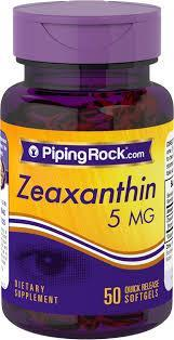 Eyes Health Zeaxanthin 5mg from Marigold Extract (USA)