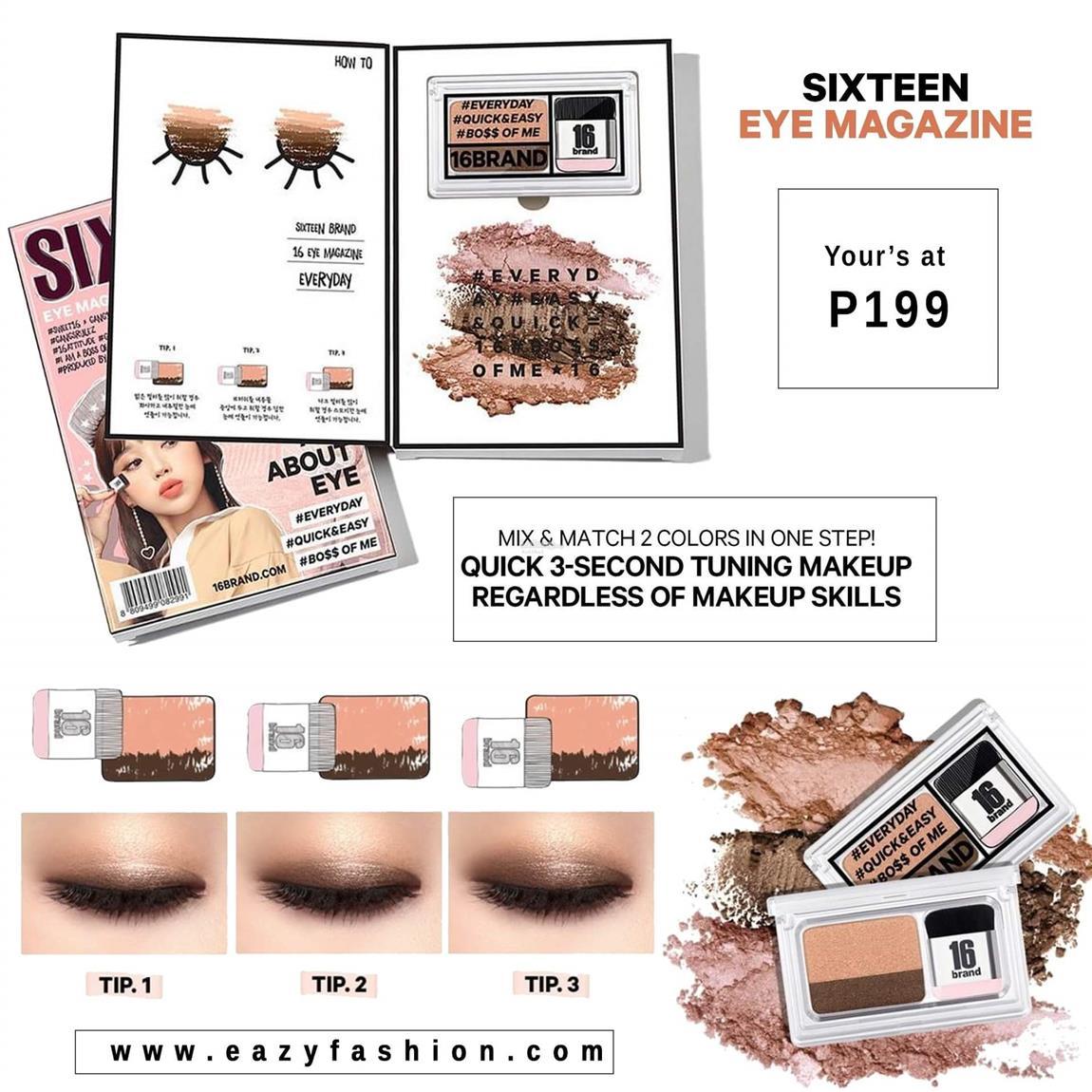 Eyeshadow Sixteen Eye Magazine Korea End 5 27 2019 215 Pm Shadow 16 Brand