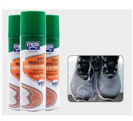 Eykosi 250ml Water Stop Nano Spray Water Repellent Waterproof Dirts