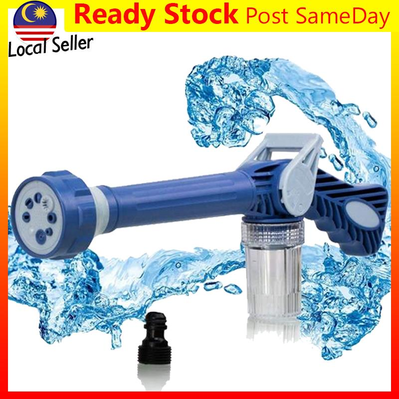 Ez Jet Water Cannon Soap Dispenser 8 Nozzle Spray Gun Wash Car