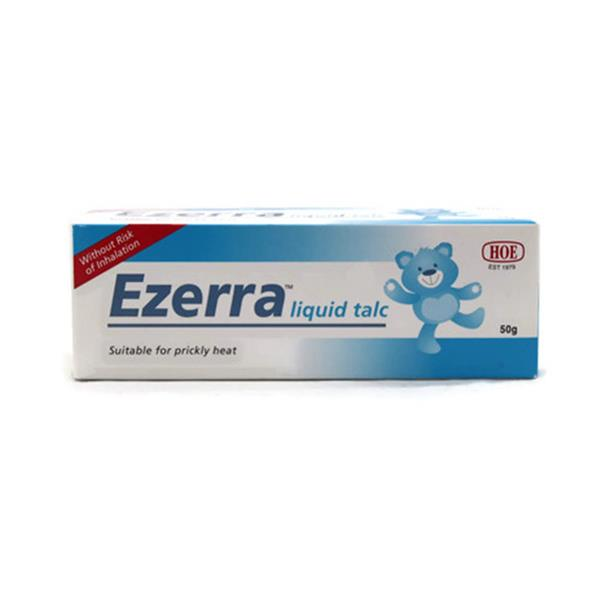 EZERRA LIQUID TALC 50GM (EXP-04/20)
