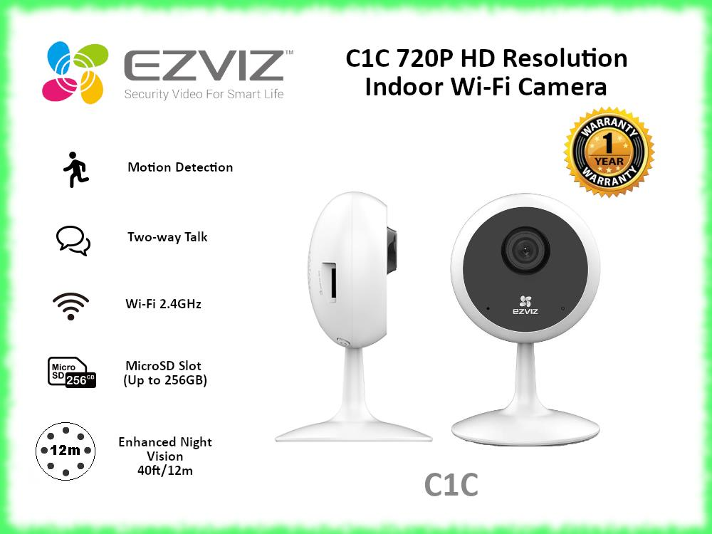 EZVIZ C1C 720P HD Resolution Indoor Wi-Fi Camera