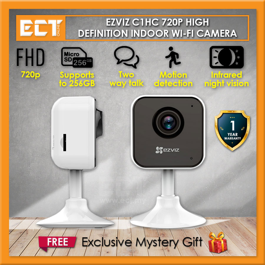 Ezviz C1HC 720p/1080p HD Wide Angle Lens Indoor Wi-Fi Security CCTV IP
