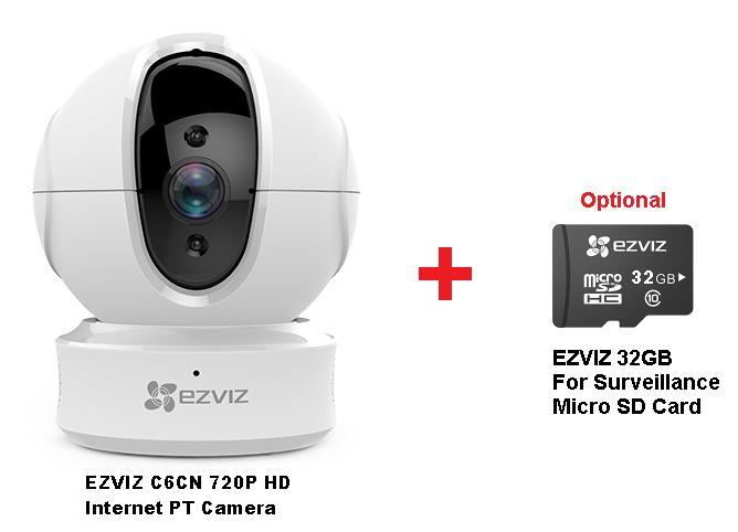 EZVIZ C6CN 720P HD Internet PT Camera