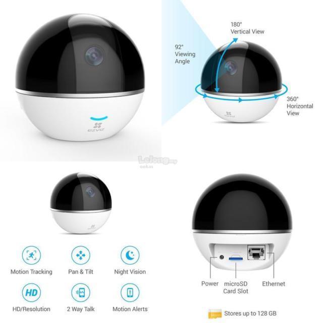 Ezviz C6T 1080P Full HD Pan Tilt Motion Tracking IP Wireless Camera